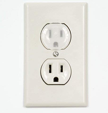 Outlet Plug Covers Clear Child Proof Electrical Protector Safety Caps